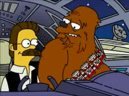 Simpsons Star Wars 03