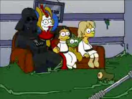 Simpsons Star Wars 11