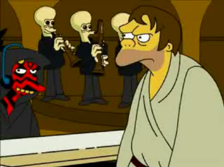 Simpsons Star Wars 05