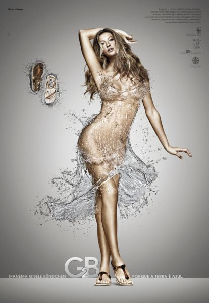 Gisele's Water Dress